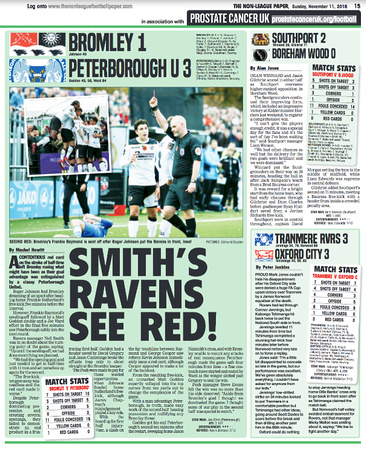 Non League Paper - 11th November 2018