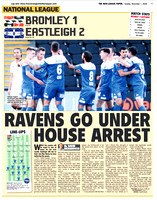 Non League Paper - 1st November 2020