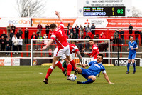 Ebbsfleet United v Chelmsford City - Vanarama National League South - 09/04/2016