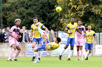 Staines Town v Dulwich Hamlet - Bostik League Premier Division - 14th October 2017