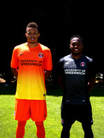 Charlton kit launch and press day